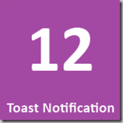 12 Toast Notification