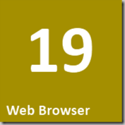 19 Web Browser