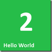 2 Hello World