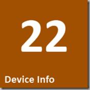 22 Device Info