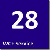 28 WCF Service