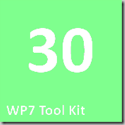 30 WP7 Tool Kit